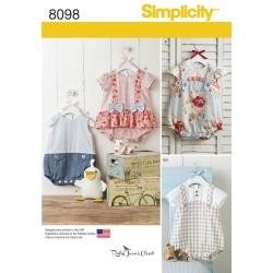 Babytøj, Rompers og sandaler snitmønster