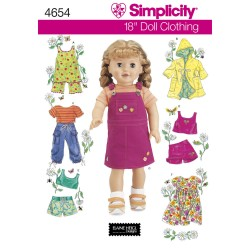 Dukketøj til 45,5cm dukke