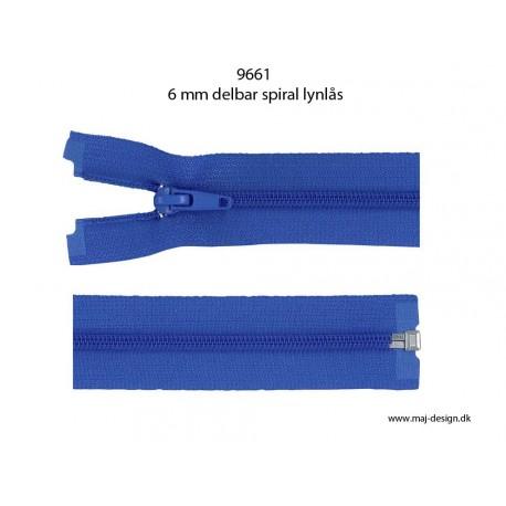 6mm spiral lynlås 9661