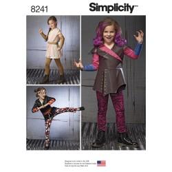 Børne kostume Ninja og rum kriger Simplicity snitmønster 8241