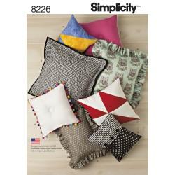 Puder Simplicity snitmønster 8226