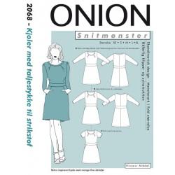 Kjole m/taljestykke Onion snitmønster