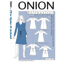 70èr kjole også plusmode Onion snitmønster