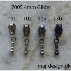 4mm glider med kuglestang