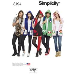 Hue/tørklæde Simplicity snitmønster 8194