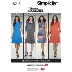 Kjole Simplicity snitmønster 8213