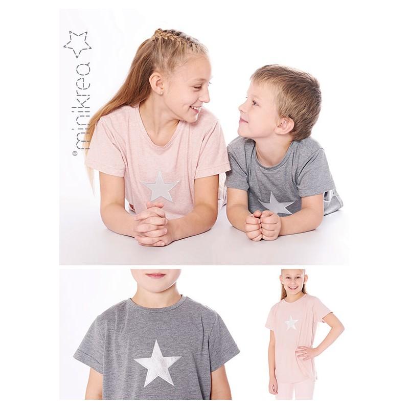T shirt drengpige minikrea snitmønster
