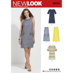 Spencer og kjole snitmønster New look