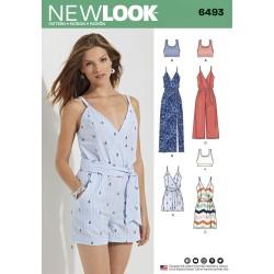 Kjole, jumpsuit og top snitmønster New look