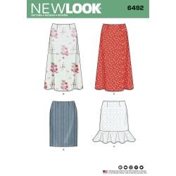 Nederdel snitmønster New look