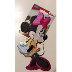 Mini Mouse broderet strygemærke 19x10 cm