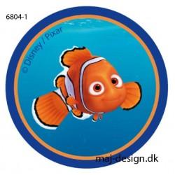 Nemo Printet strygemærke Ø 6,5 cm