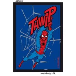 Spider-man printet strgemærke 7,5x5 cm