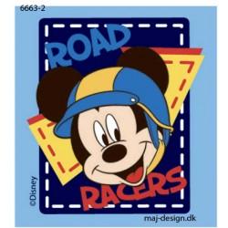 Mickey Mouse printet strygemærke 7x6,5 cm