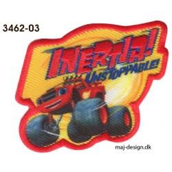 Blaze Monster Machines Broderet strygemærke 5,5x7 cm
