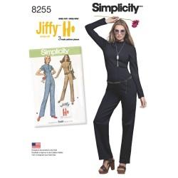 Jumpsuit/buksedragt jiffy Simplicity snitmønster 8255