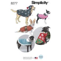Tøj til hunde og hue snitmønster