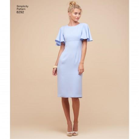 69544ad4635c Skulder kjole