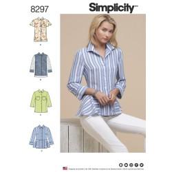 Skjorte snitmønster