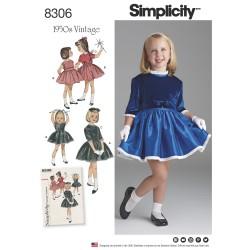 1950´vintage pigekjole og kort jakke snitmønster