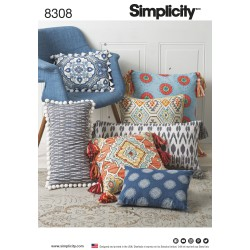 Puder snitmønster 8308 Simplicity