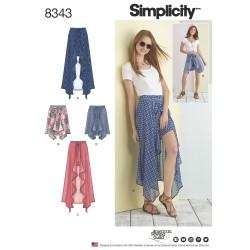 Shorts-og nederdel snitmønster