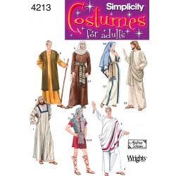 Kostume Beduin mænd snitmønster 4213