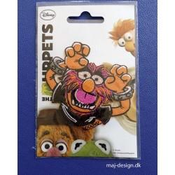 Animal Muppet show broderet strygemærke 8x8 cm