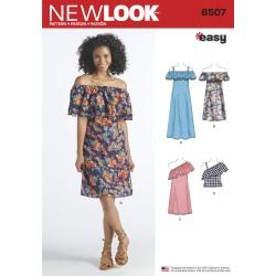 Sommerkjole New Look snitmønster easy