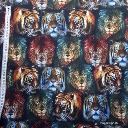 Tiger og Løvehover digital print