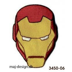 Iron Man broderede strygemærke
