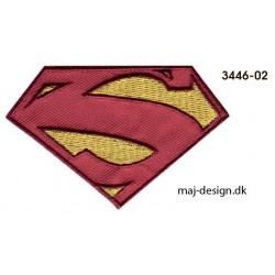 Superman logo strygemærke8 x 5 cm