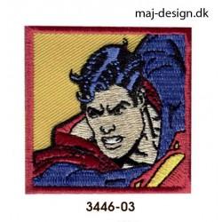 Superman strygemærke 5,5 x 5,5