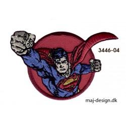 Superman strygemærke Ø5 x 8 cm