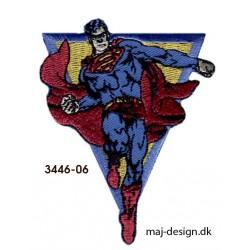 Superman strygemærke 6,5 x 8,5 cm