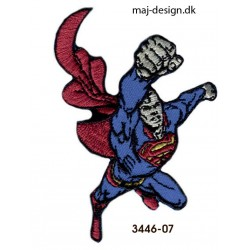 Superman strygemærke 6 x 8,5 cm