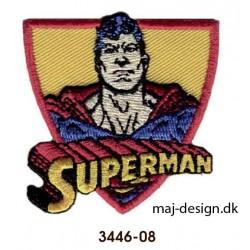 Superman strygemærke 5,5 x 5,5 cm