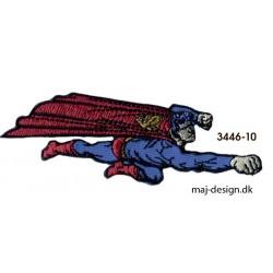 Superman strygemærke 10 x 3 cm