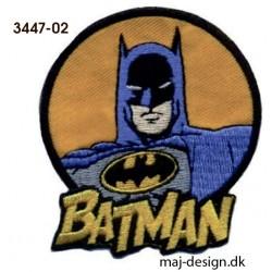 Batman strygemærke Ø 6,5 cm