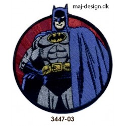 Batman strygemærke Ø 7 cm