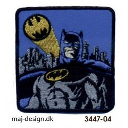 Batman strygemærke 6 x 6 cm