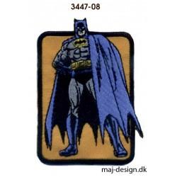 Batman strygemærke 5 x 8 cm