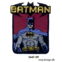Batman strygemærke 6 x 8 cm