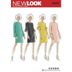 Kjole New look snitmønster 6524