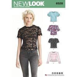 Bluse New look snitmønster 6528