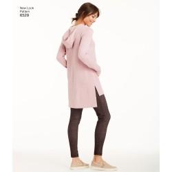 Bukser og tunika New look snitmønster 6529