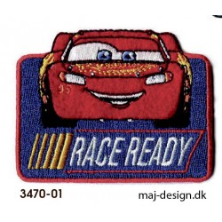 Cars 3 McQueen strygemærke 7,5 x 5,5 cm