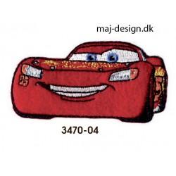 Biler 3 strygemærke 7 x 3,5 cm