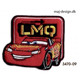 Cars 3 McQueen strygemærke 7 x 6 cm