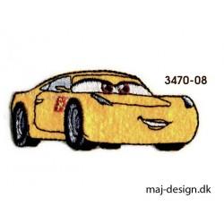 Biler 3 Cruz Ramirez strygemærke 7,5 x 3,5 cm